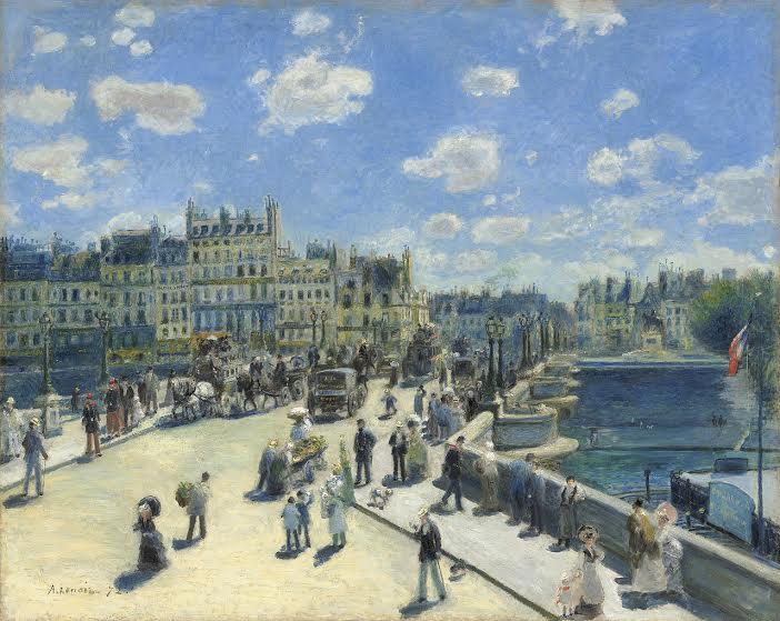 pont neuf, one of paris' bridges