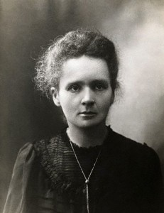 Marie Curie, an influential woman