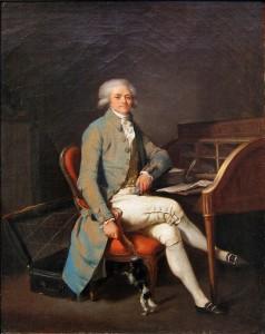 Portrait of Maximilien de Robespierre. Oil painting by Louis-Léopold Boilly (c. 1791). Palais des Beaux-Arts de Lille. PD-100+ Wikimedia Commons.