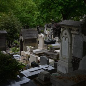 Père-Lachaise Cemetery. Photo by Dan Owen.