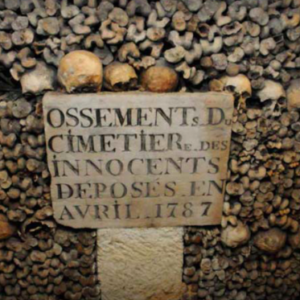 Paris Catacombs. Photo by Dan Owen.