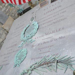 de Lafayette's Grave, Picpus