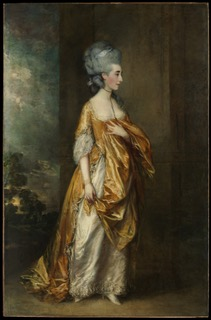 Portrait of Mrs. Grace Dalrymple Elliott. Painting by Thomas Gainsborough (1778). Metropolitan Museum of Art. PD-100+ Wikimedia Commons.