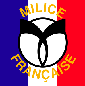 Flag of the Milice. Wikipedia