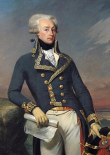 Portrait of Gilbert Motier the Marquis De La Fayette as a Lieutenant General, 1791. Painting by Joseph-Désiré Court (c. 1834). Palace of Versailles. PD-100+ Wikimedia Commons.