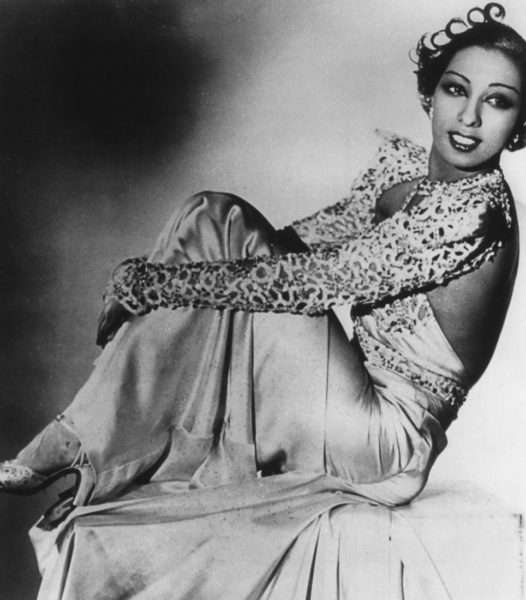Josephine Baker, singer. Photo by anonymous (c. 1930s). Author's collection.
