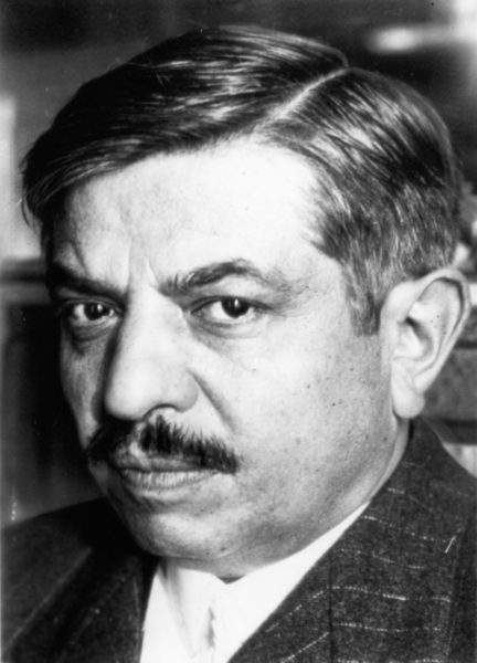 Pierre Laval, former Vice Premier of France under Marshal Pétain, was shot today as he attended an anti-communist demonstration at German-occupied Versailles and was reported tonight to have been seriously wounded. Photo by APWirePhoto (c. August 1941). Author's collection.