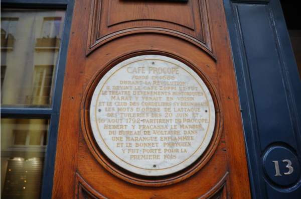This plaque details some of the many fascinating events that took place here.