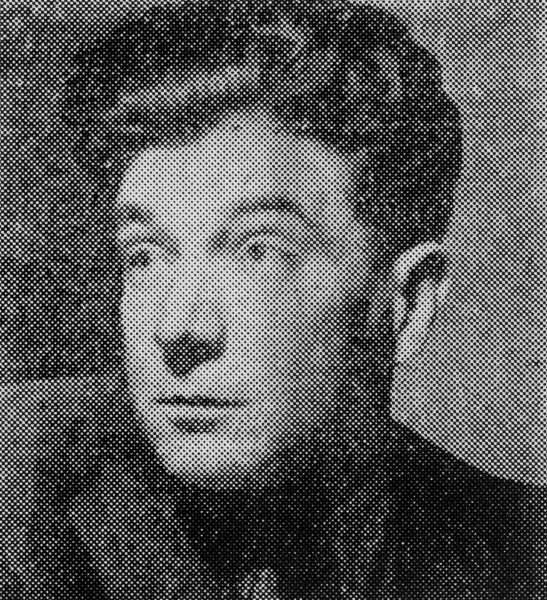 Henri Déricourt during his trial. Photo by anonymous (1948).