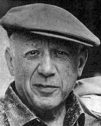 Pablo Picasso 1962. Photo by Argentina (January 1962). PD-Expired. Wikimedia Commons.
