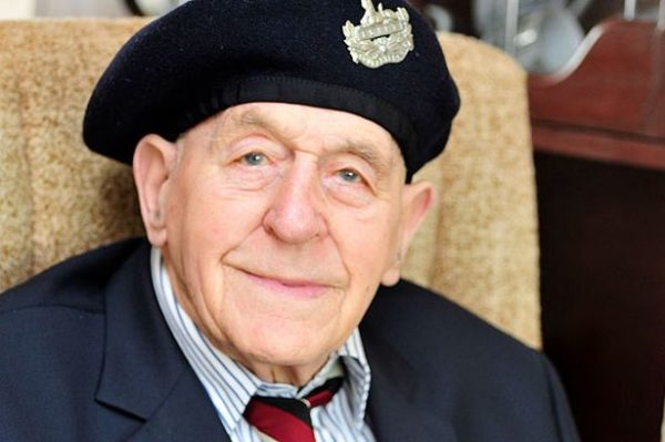 Bill Lacey - Retired. Photo by SM (date unknown). Daily Mirror UK.