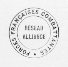 Official stamp of the Réseau Alliance. Photo by anonymous (date unknown).