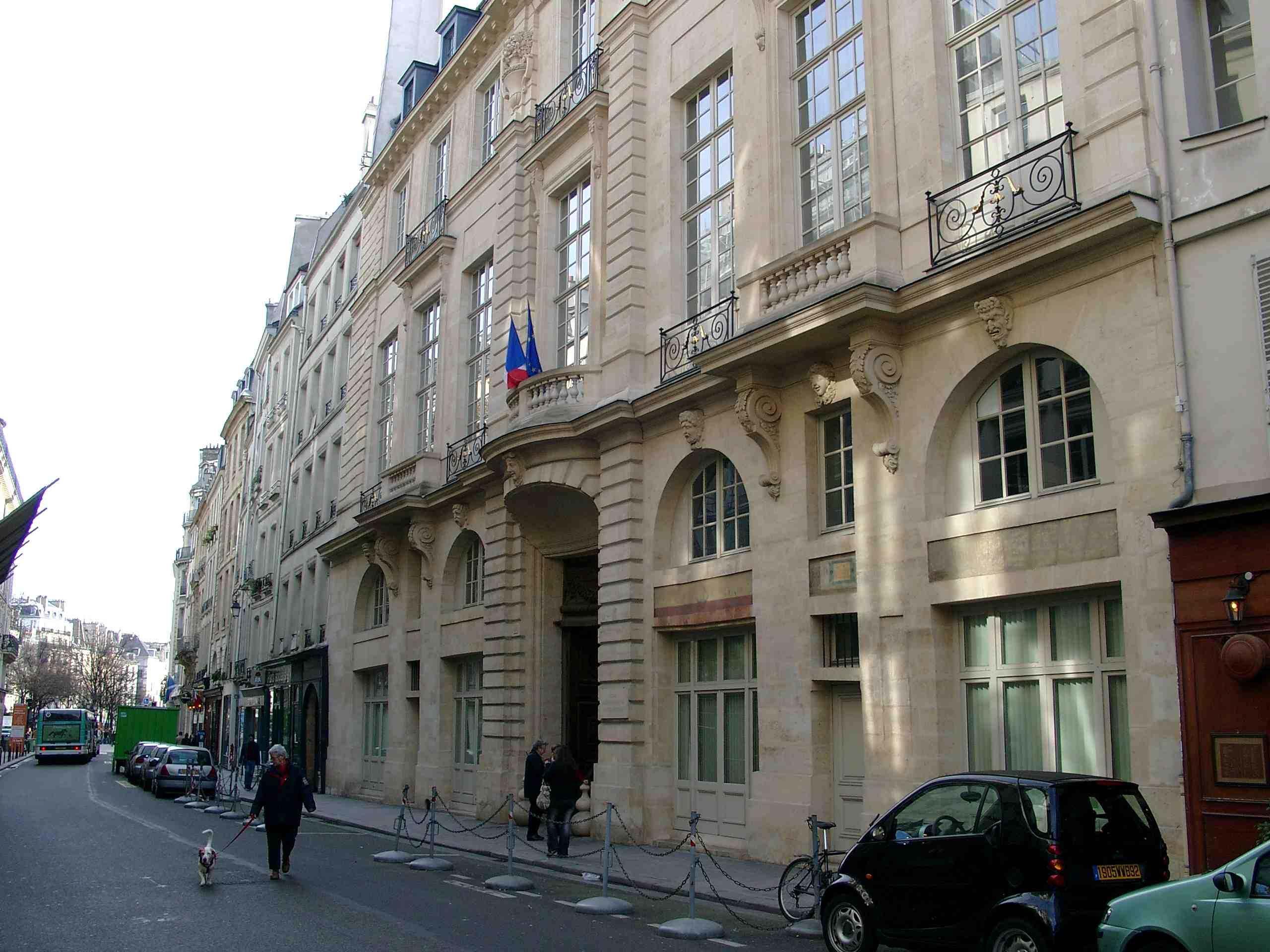 Front Of Hôtel De Beauvais Photo By Br 2007 Pd Author